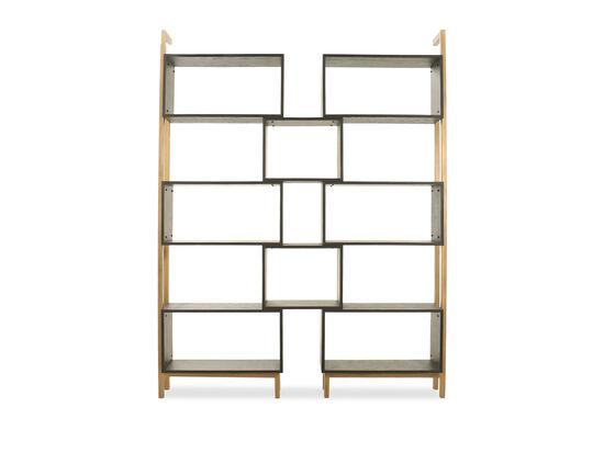 Open Shelf Étagère in Gray