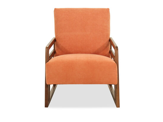 "Modern 26"" Accent Chair in Melon"