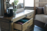 Legacy Metalworks Woodgate Dresser and Mirror