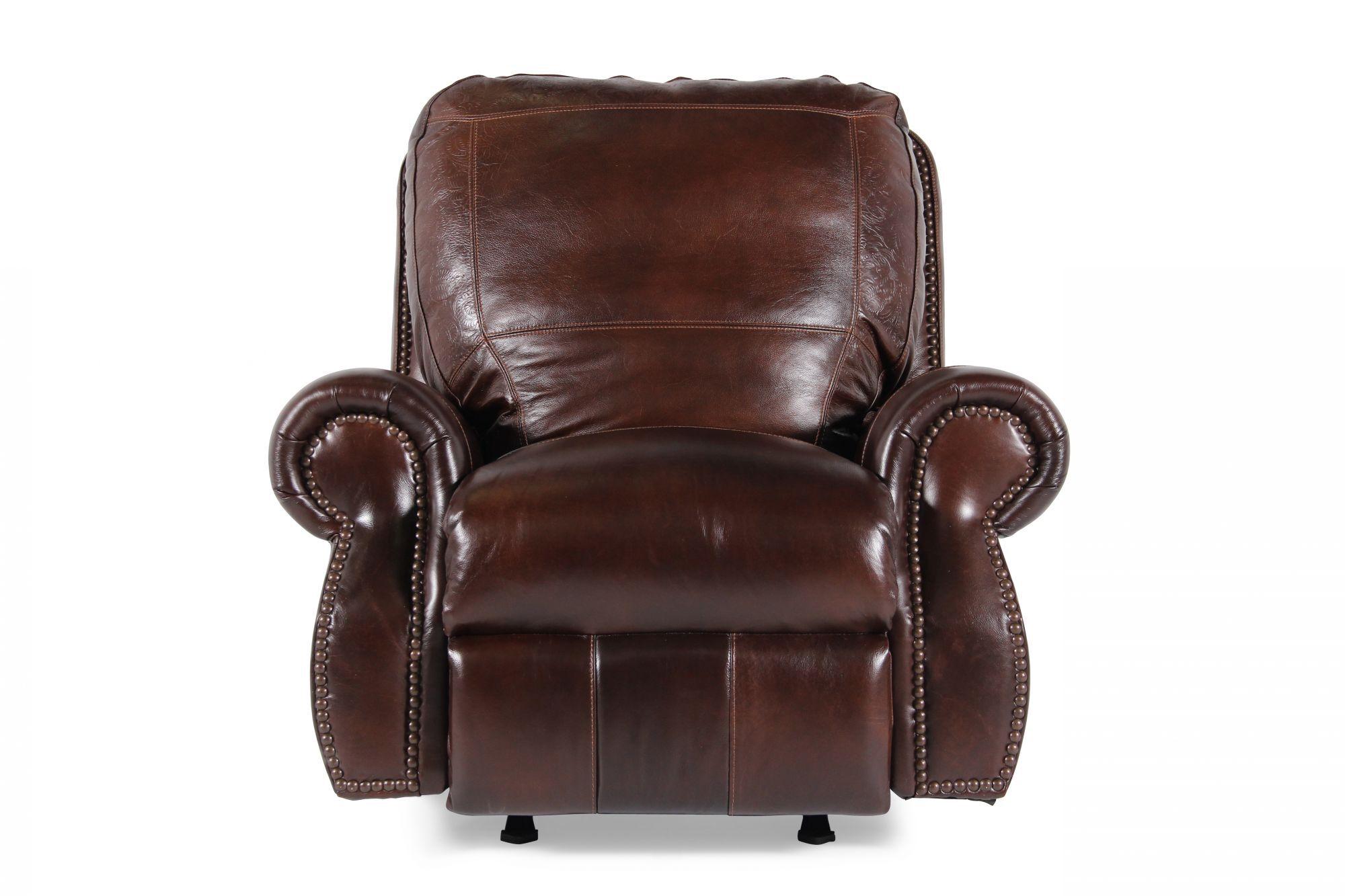 USA Leather Oak Paisley Recliner  sc 1 st  Mathis Brothers & USA Leather Oak Paisley Recliner | Mathis Brothers Furniture islam-shia.org