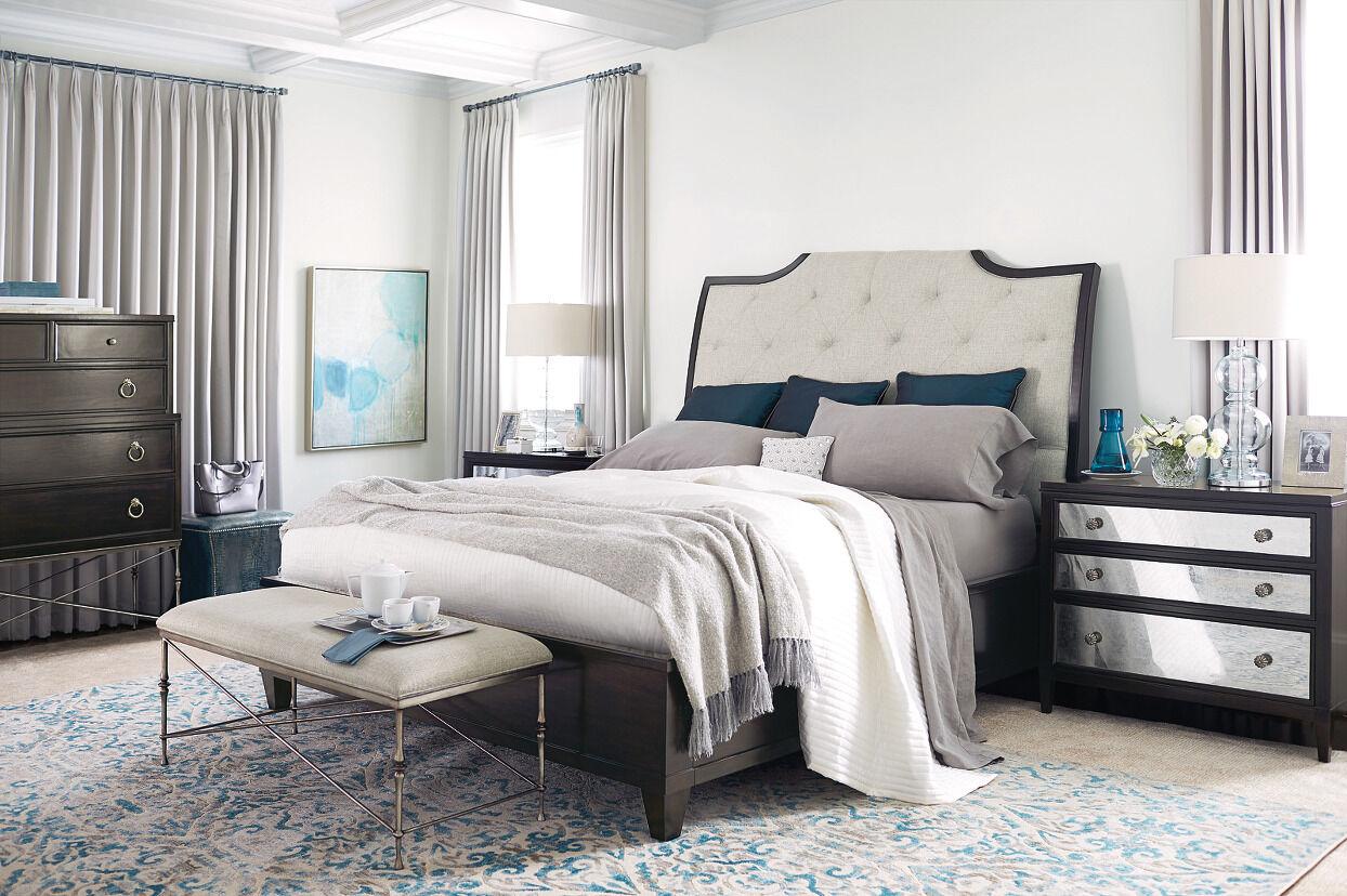 bernhardt sutton house upholstered sleigh bed