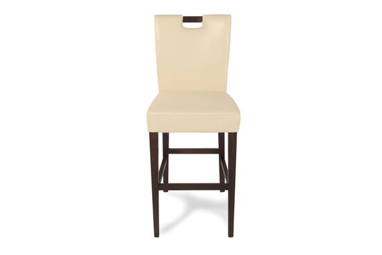 "Contemporary 45""  Bar Stool in Cream"
