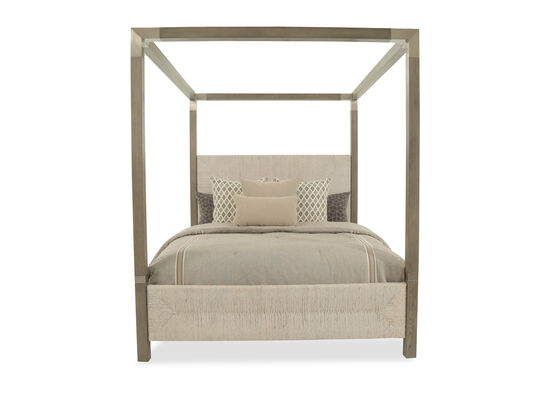 Bernhardt Palma California King Brown Canopy Bed