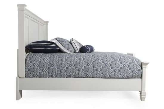 Ashley Prentice White Queen Panel Bed