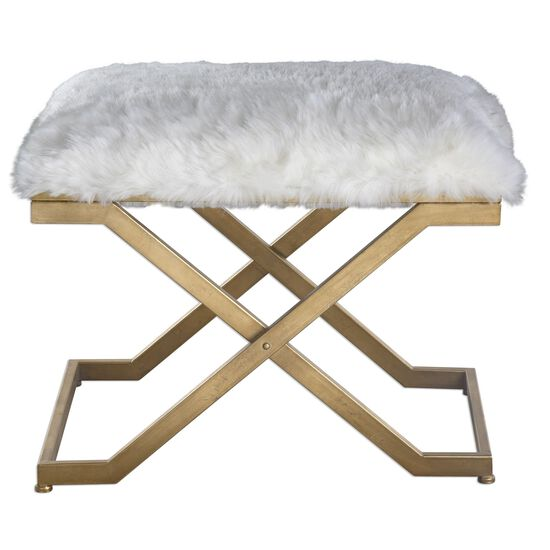 """X-Base 24"""" Accent Bench in White"""
