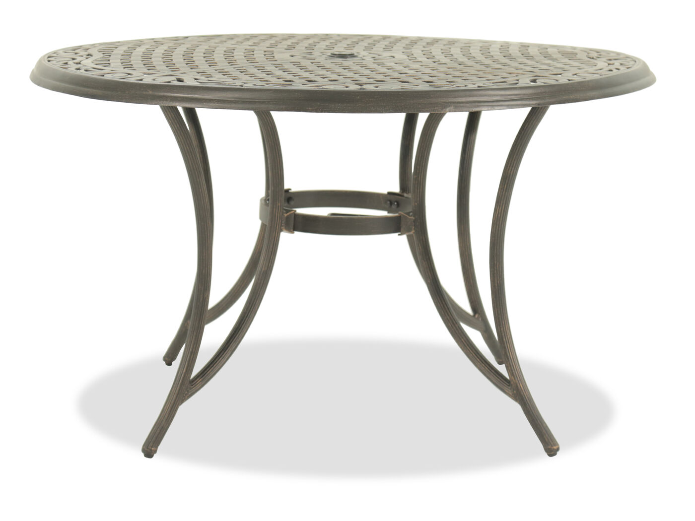 Mathis Brothers Patio Furniture world source southridge round dining table | mathis brothers furniture