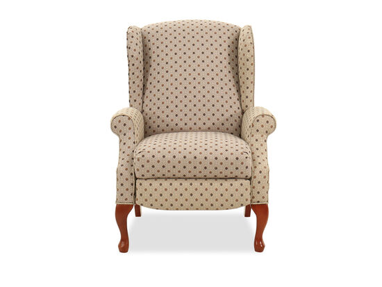"Traditional 30"" Recliner in Beige"