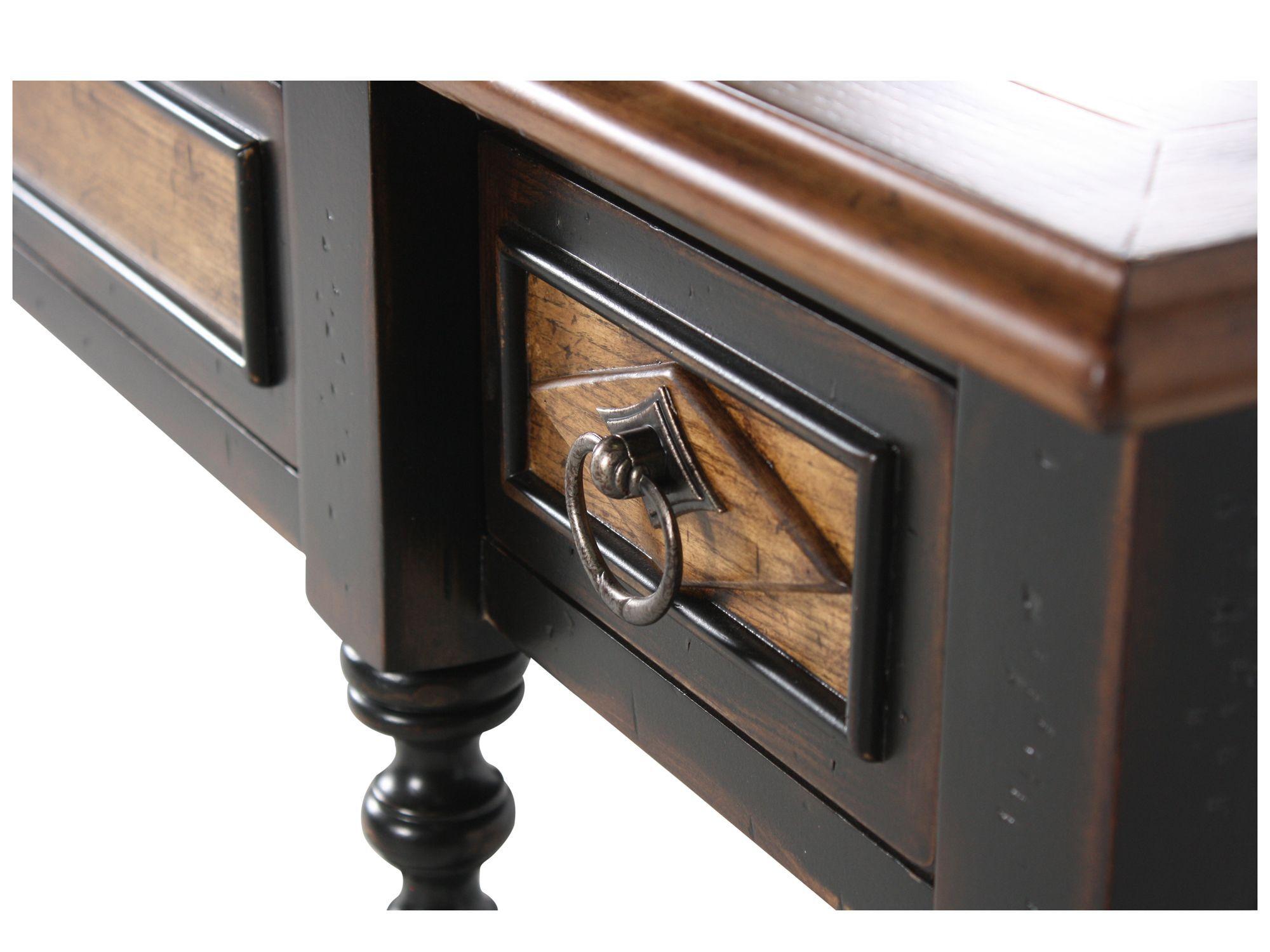 hooker ebony thin console table - Thin Console Table