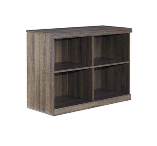 Three-Drawer Casual Loft Bookcase in Dark Brown
