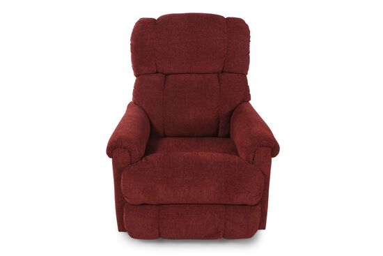 "Contemporary 33"" Rocker Recliner in Merlot"