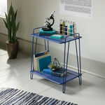 MB Home Orchard Blue Accent Table