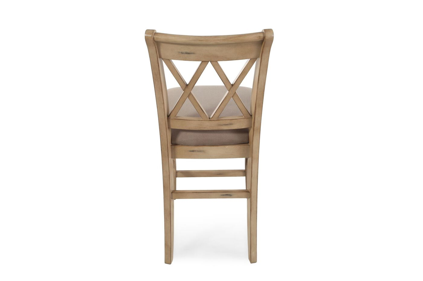 X Braced 40 5 Quot Pair Of Bar Stools In Light Brown Mathis