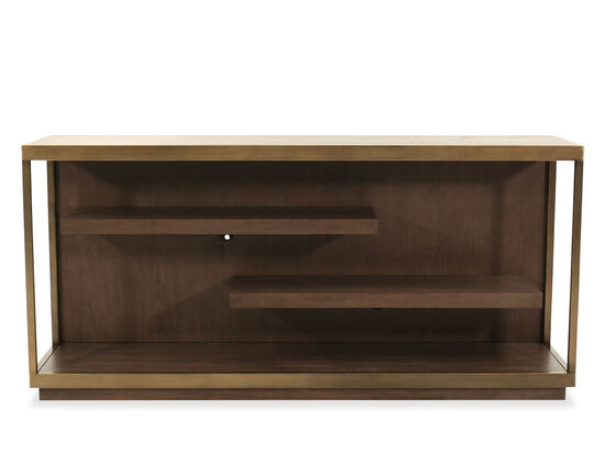 Modern Console Table in Brown