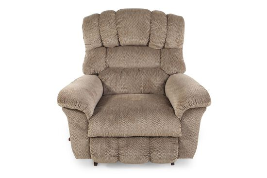 "Casual 46"" Rocker Recliner in Bamboo"