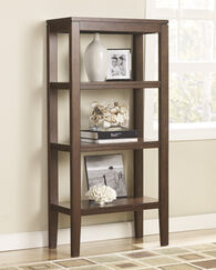 Ashley Deagan Dark Brown Pier Cabinet