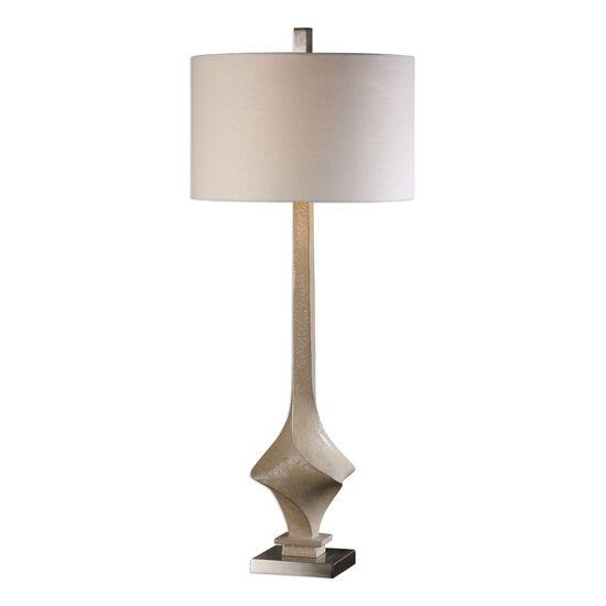 Tapered Twist Base Lamp in Desert Sand