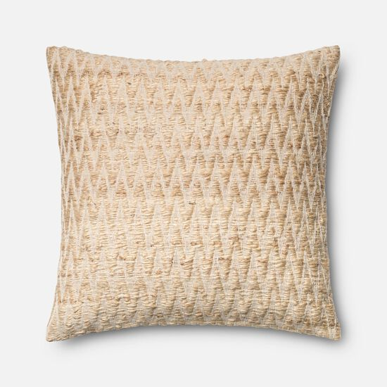 "22""x22"" Pillow Cover Only in Beige"