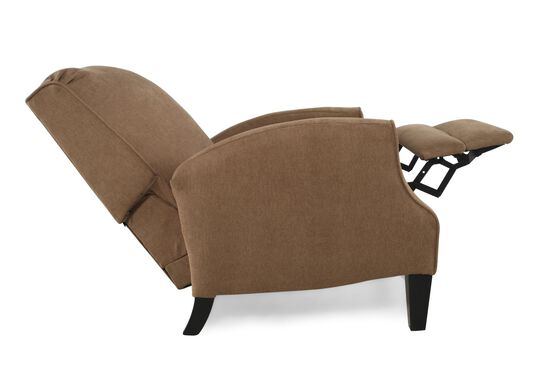 """Contemporary 28"""" Recliner in Brown Truffle"""