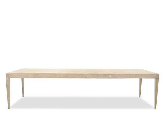 Rectangular 83'' to 124'' Dining Table in Brown