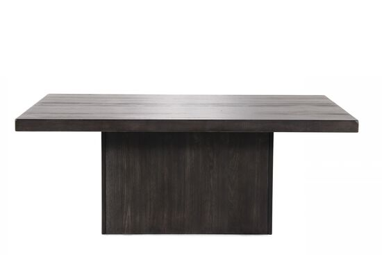 Rectangular Casual Cocktail Table in Dark Gray