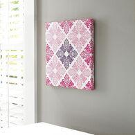Ashley Jadine White/Pink Wall Art