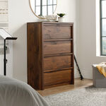 MB Home Fusionville Grand Walnut 4-Drawer Chest