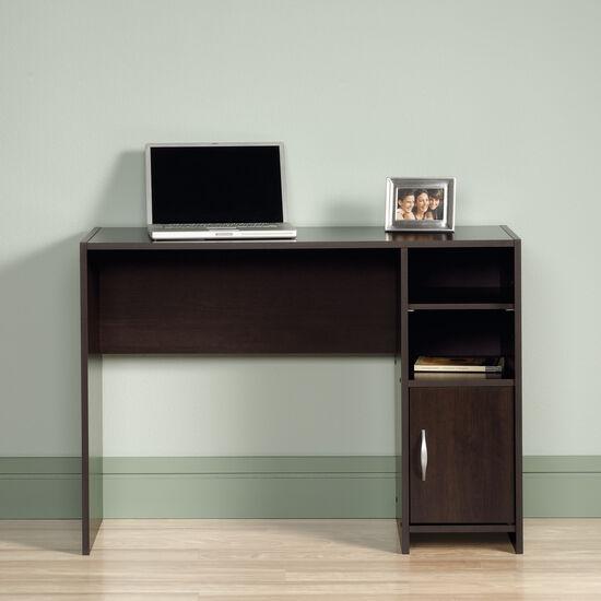 "40.5"" Transitional Open-Shelf Desk in Cinnamon Cherry"