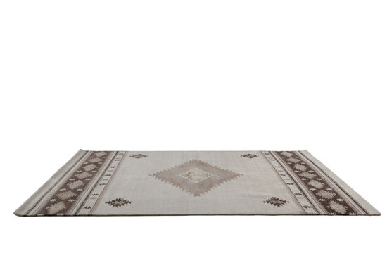 LB Hand Tufted Wool Natural Southwest Rug