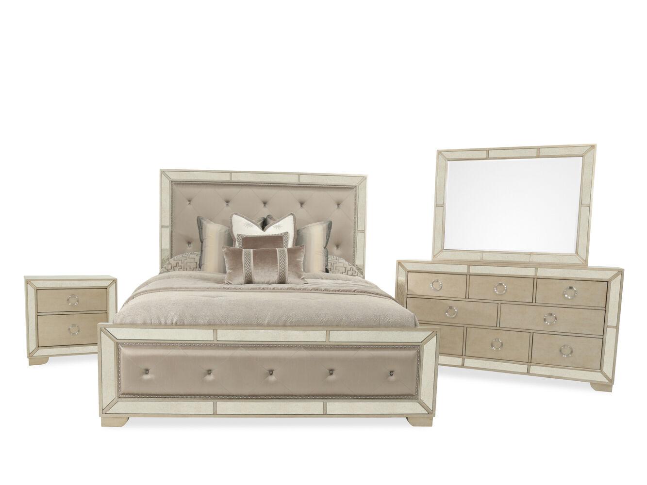 Pulaski Farrah Upholstered Queen Bedroom Suite
