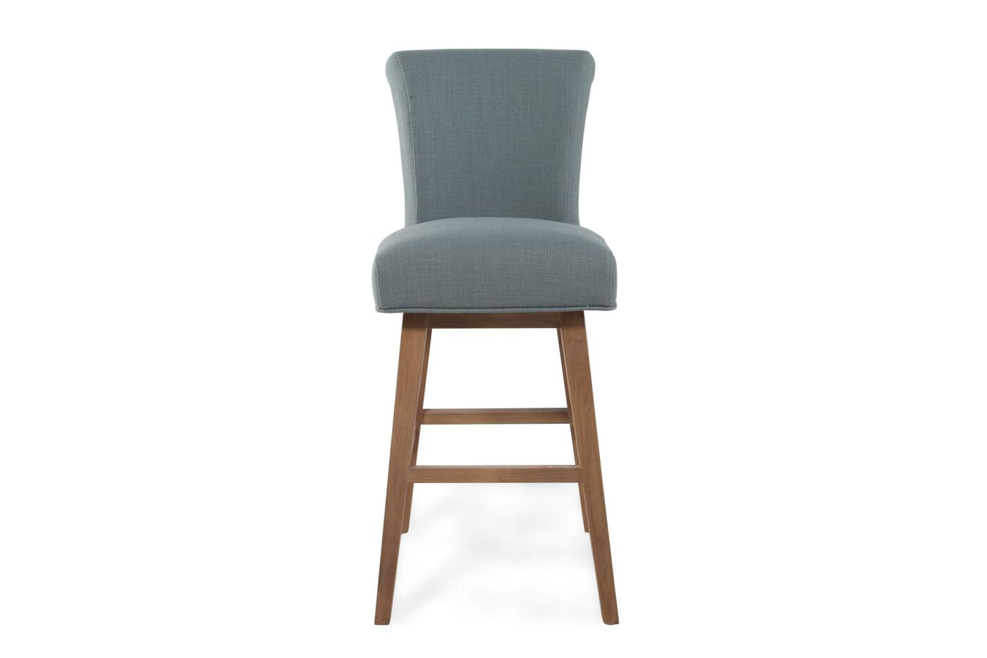 Contemporary 44 Quot Bar Stool In Smokey Blue Mathis