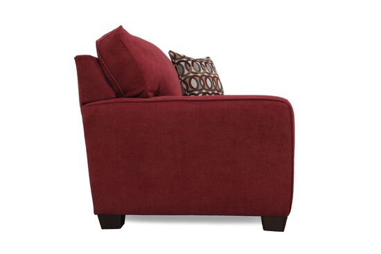 """I-Rest Casual 54"""" Sleeper Chair in Berry"""