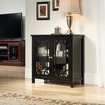 MB Home Verdant Valley Black Display Cabinet