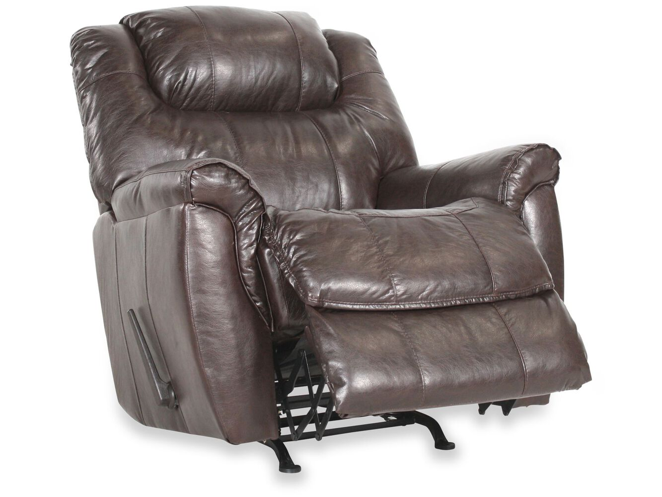 Zero Gravity Traditional 41 Recliner In Dark Brown Mathis Brothers Furniture