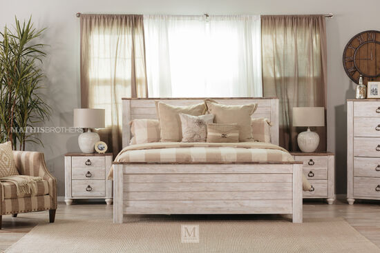 Ashley Willowton Queen Panel Bed