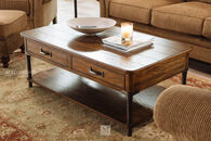 Broyhill Saluda Rectangular Oak Cocktail Table