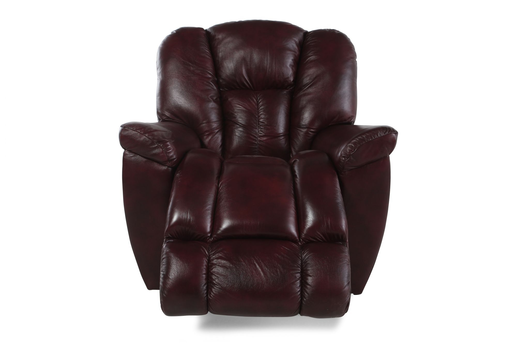 La-Z-Boy Maverick Claret Recliner  sc 1 st  Mathis Brothers : lazy boy couch recliner - islam-shia.org