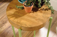 MB Home Dahlia Zesty Apple Accent Table