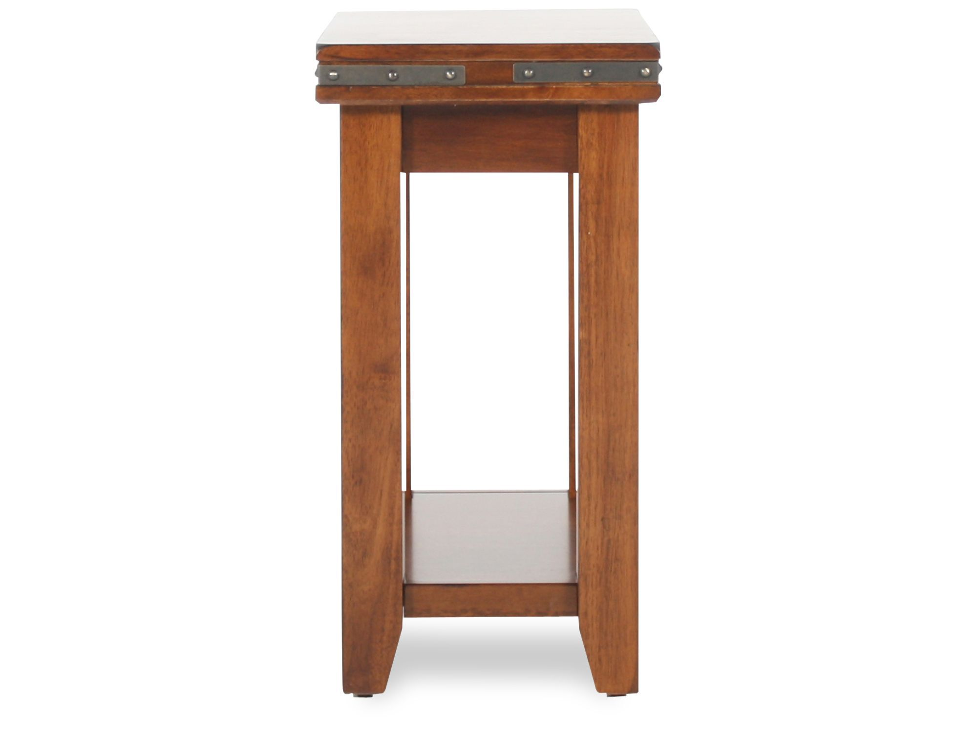 winners only mango small end table