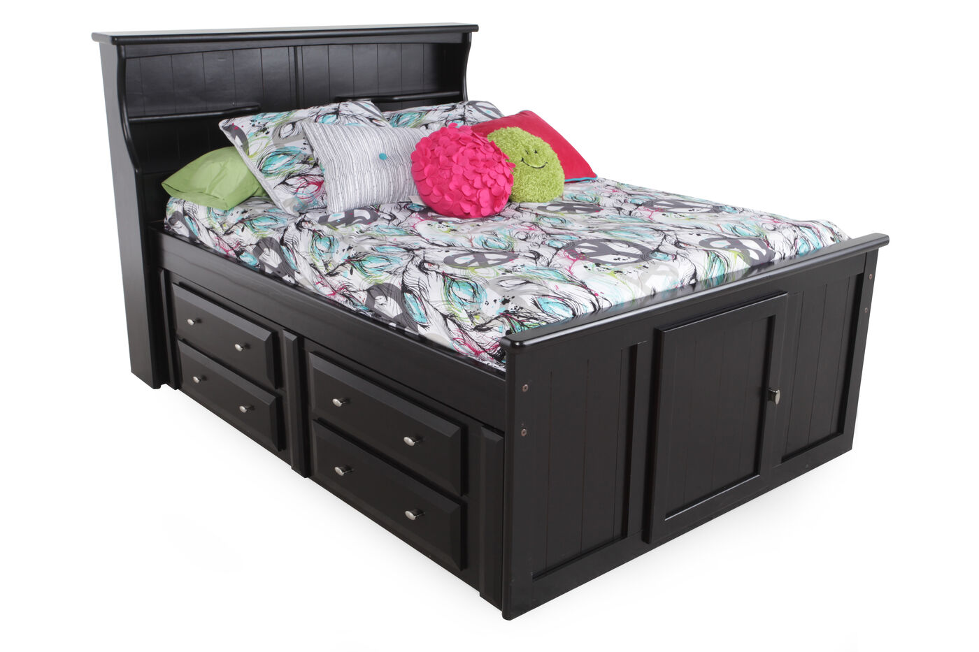 with trundle view l twin full drawer size bed larger kids nexera storage beds