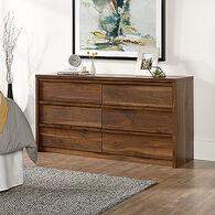 "31"" Contemporary Six-Drawer Dresser in Grand Walnut"
