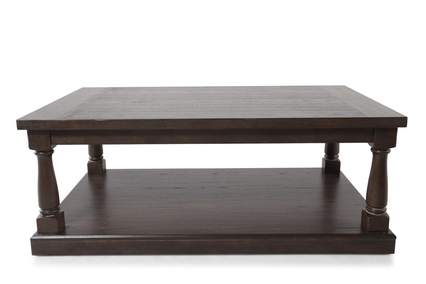 Images Rectangular Contemporary Coffee Table Nbsp In Dark Espresso