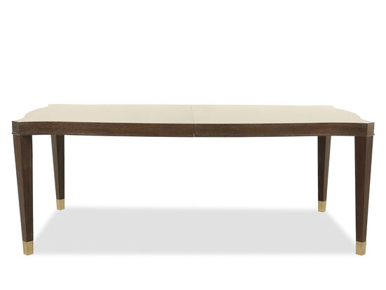 """Traditional 46"""" Dining Table in Clarendon Arabica"""