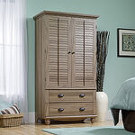 MB Home Hampshire Salt Oak Armoire