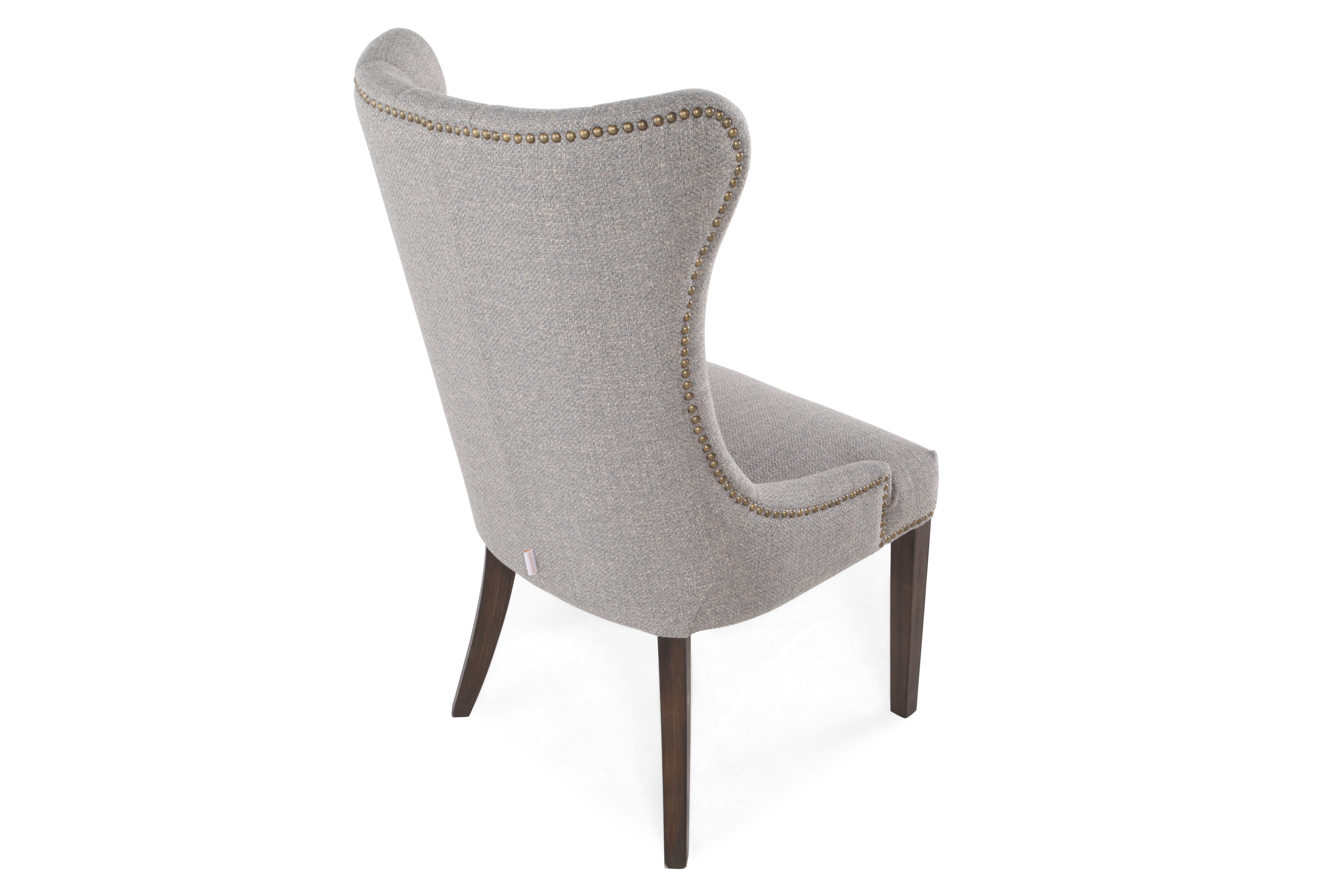 Button Tufted Back 23u0026quot; Dining Chairu0026nbsp ...
