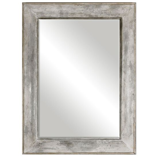 "64"" Distressed Accent Mirror in Rust Gray"