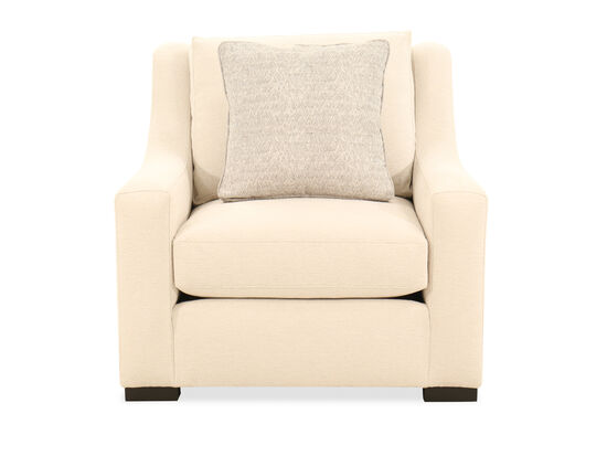 39'' Wingback Chair in Beige