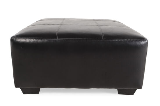"Contemporary 40"" Ottoman in Smoke Gray"
