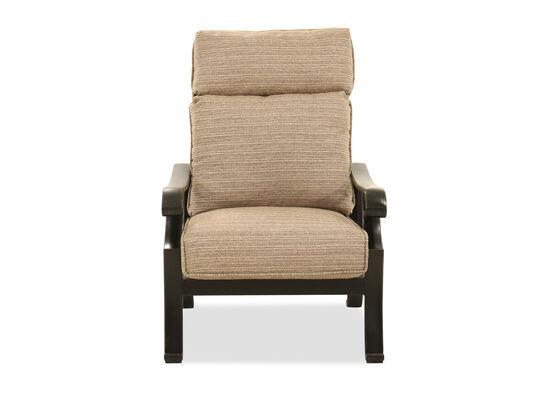 Aluminum Chair in Brown