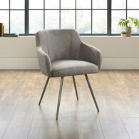 "Contemporary 24.5"" Chair in Gray Chair"