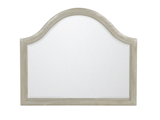 "40"" Casual Arched Accent Mirror in Silver"